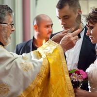nunta in londra+ biserica + oficiere
