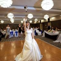 nunta in londra + aruncatul buchetului