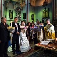 nunta in londra + la biserica roamaneasca
