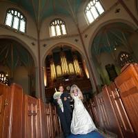 nunta in londra + mireasa + biserica
