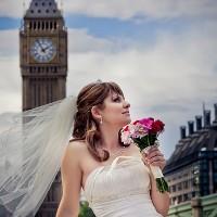 sedinta foto in Londra + mireasa
