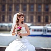 sedinta foto in Londra _ portret mireasa
