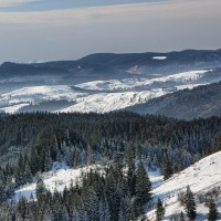 carpatii orientali iarna
