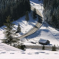 iarna in munti bucovinei