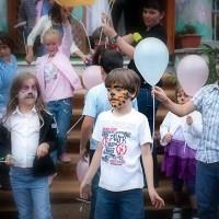 fotografii cu copii la petrecere