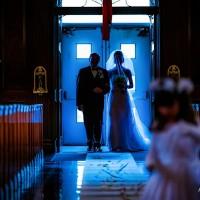 intrarea miresei in biserica