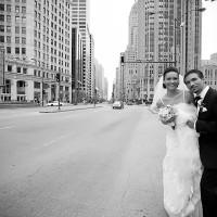 fotografii cu miri in strada