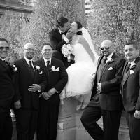 fotografii de nunta in parcul MIlleniun