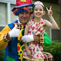 clown cu Beatrice