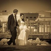 fotografii sepia la nunta