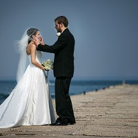 nunta la malul lacului Michicagn