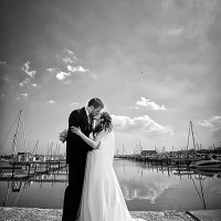 fotografii de nunta la malul marii