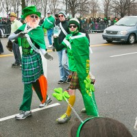 St. Patrick day in lume